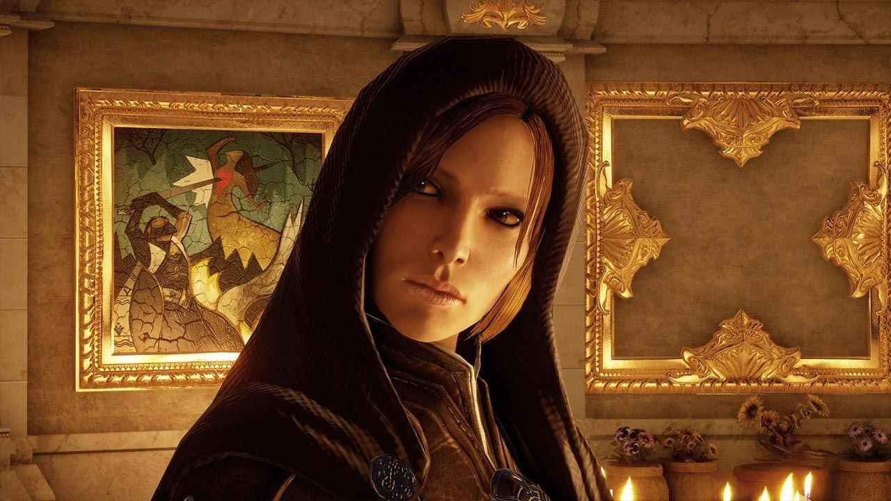 ¿Porqué Leliana aparece en DA:I a pesar de su muerte (determinante) en el Templo de Andraste?