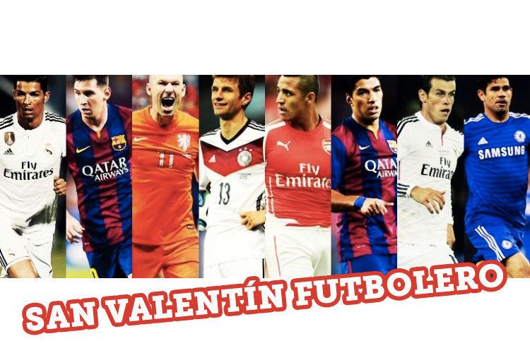 11747 - ¿Con qué futbolista pasarás San Valentín?