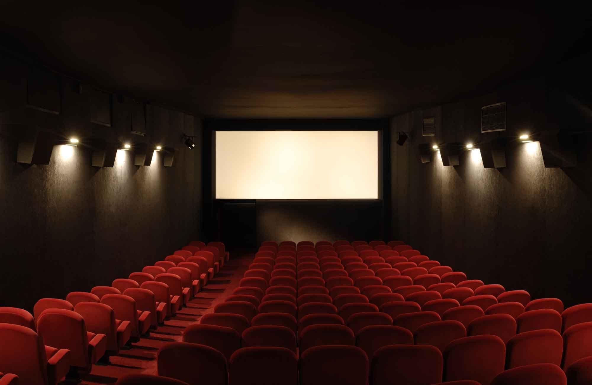 Te llevan a ver una peli al cine...