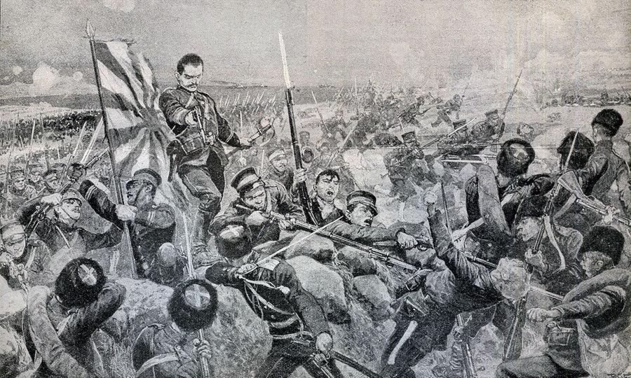 ¿Qué territorio se disputaron Rusia y Japón en la Guerra ruso-japonesa?
