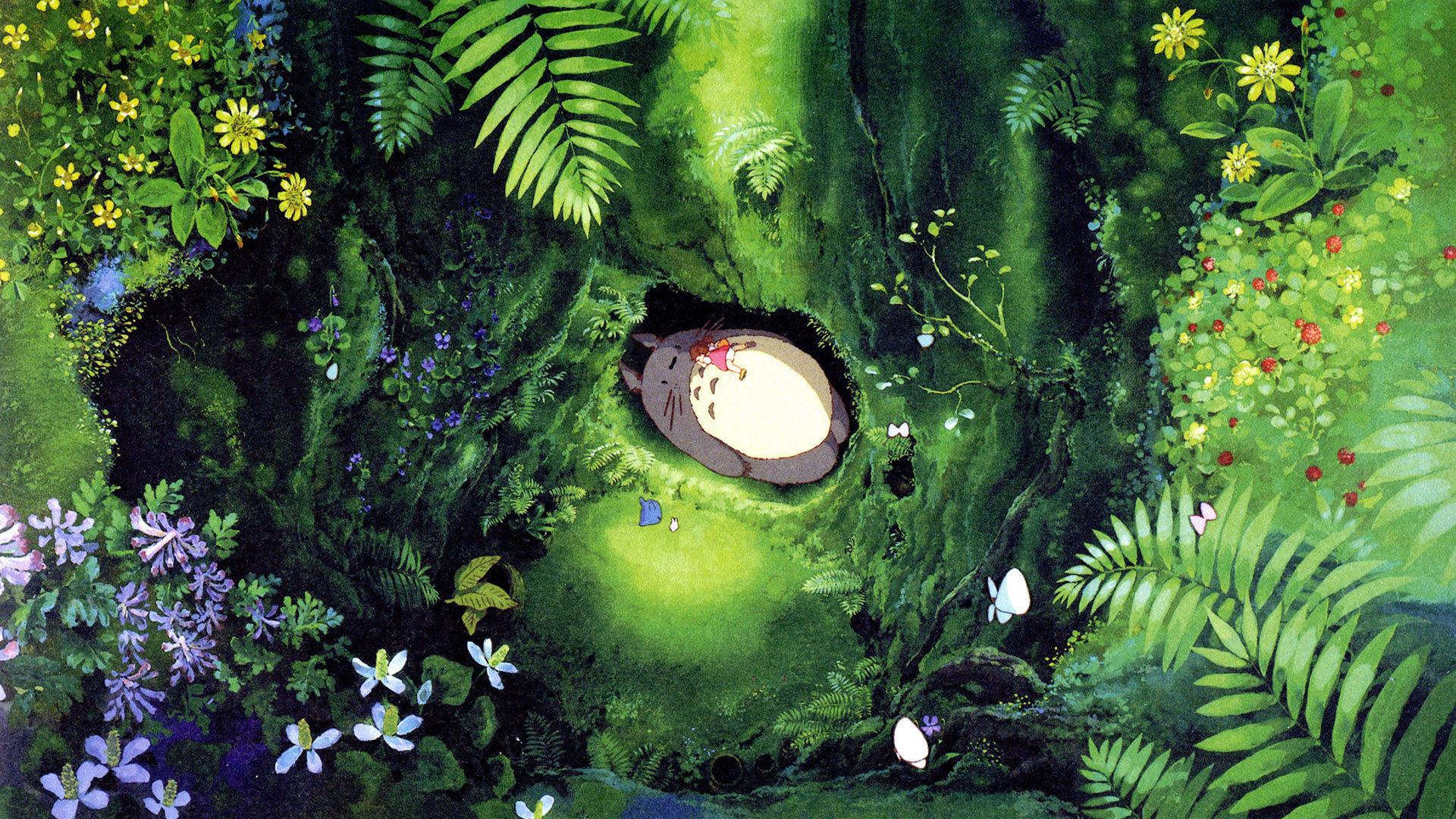 11861 - ¿Serías capaz de relacionar estas imágenes con las películas de Ghibli a las que pertenecen?