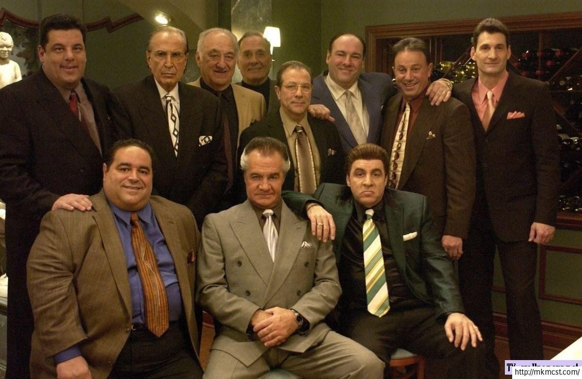Para empezar, ¿cómo se llama la familia de crimen organizado a la que pertenecía Tony Soprano?