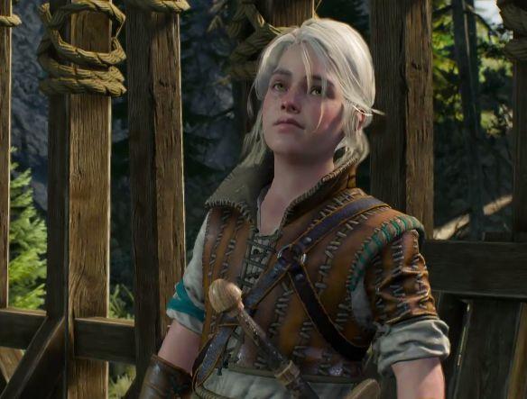 ¿Quien iba con Geralt cuando se unió a dicha compañía, y a donde iban?