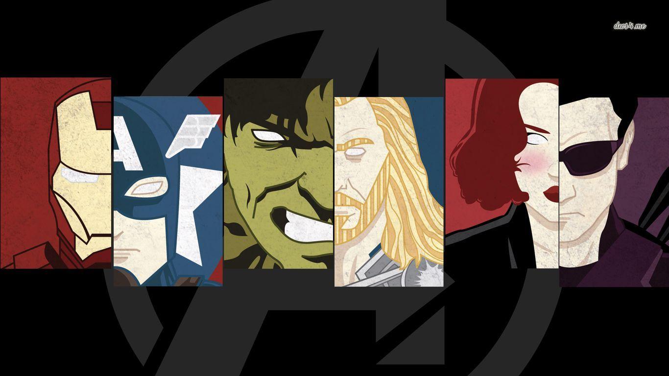 12040 - ¿Recuerdas a estos personajes de Los Vengadores?