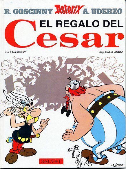 En el cómic El regalo del César, ¿qué respuesta le da Abraracurcix a Ortopedix cuando éste le pide el pueblo?