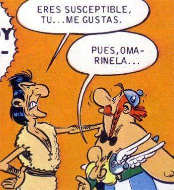 En el cómic Asterix en Córcega, ¿qué hace que se hunda el barco de los piratas?