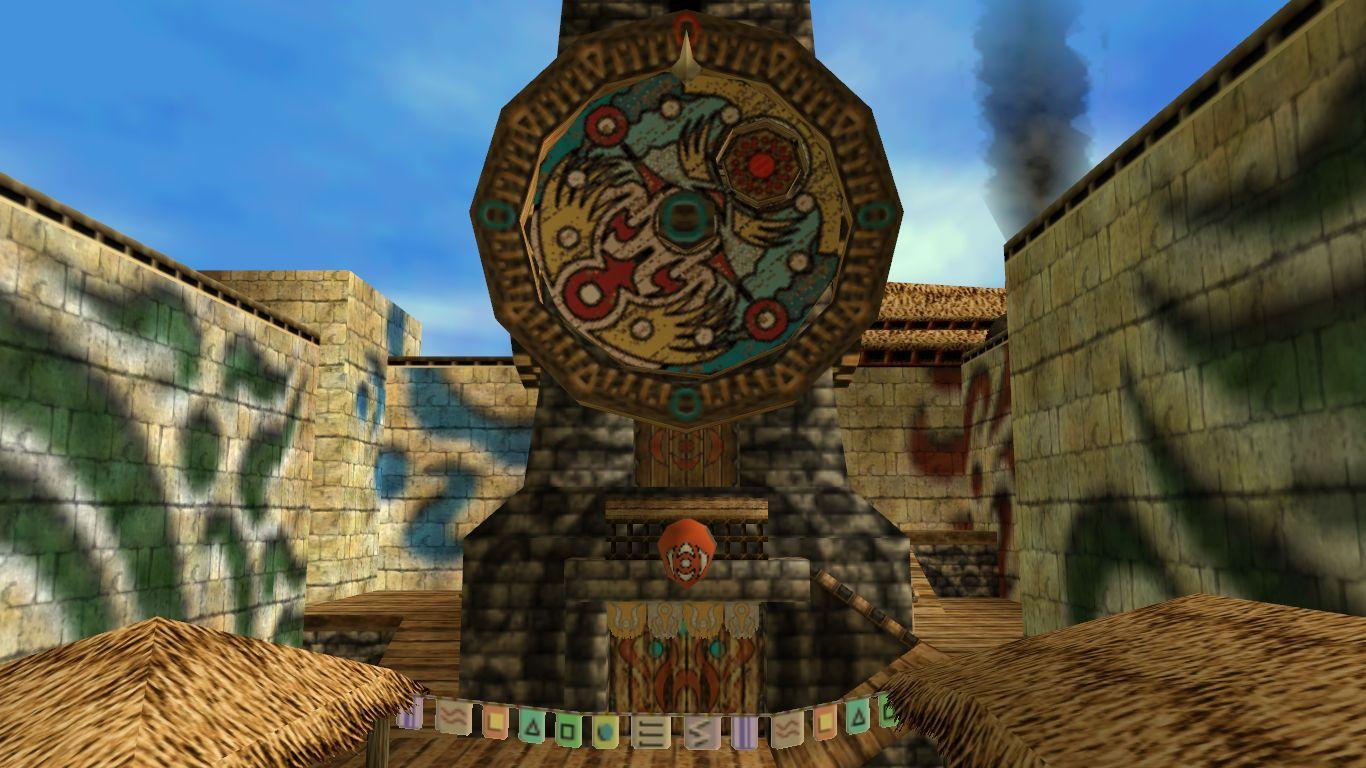 En Majora's Mask, ¿a cuánto tiempo de juego real equivalen las 72 horas que tiene Link para salvar Termina?