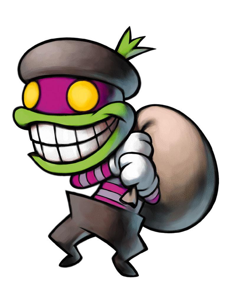 ¿En qué juegos aparece el ladrón Panyo?