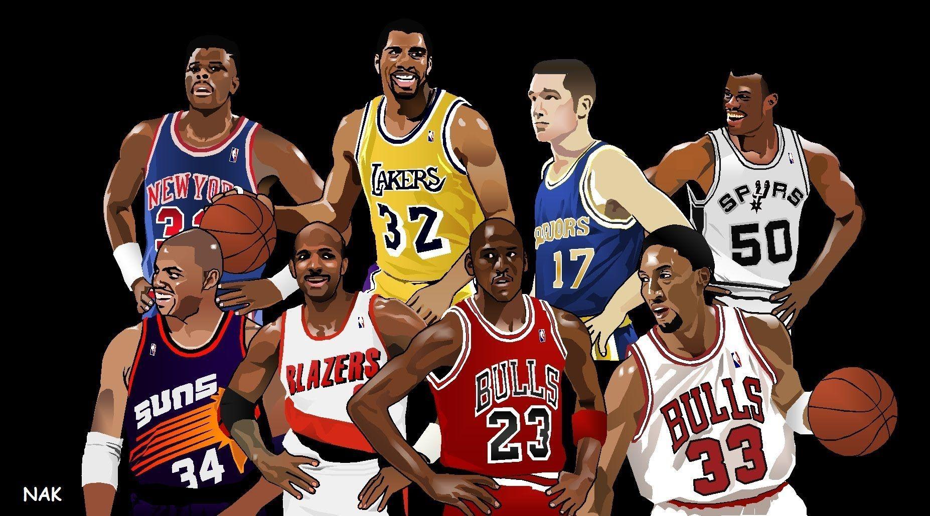 12117 - ¿Sabrías reconocer a estas leyendas de la NBA?