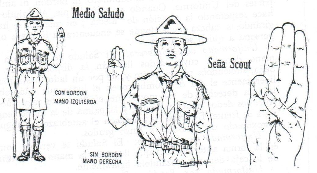 ¿Qué significa la seña scout?