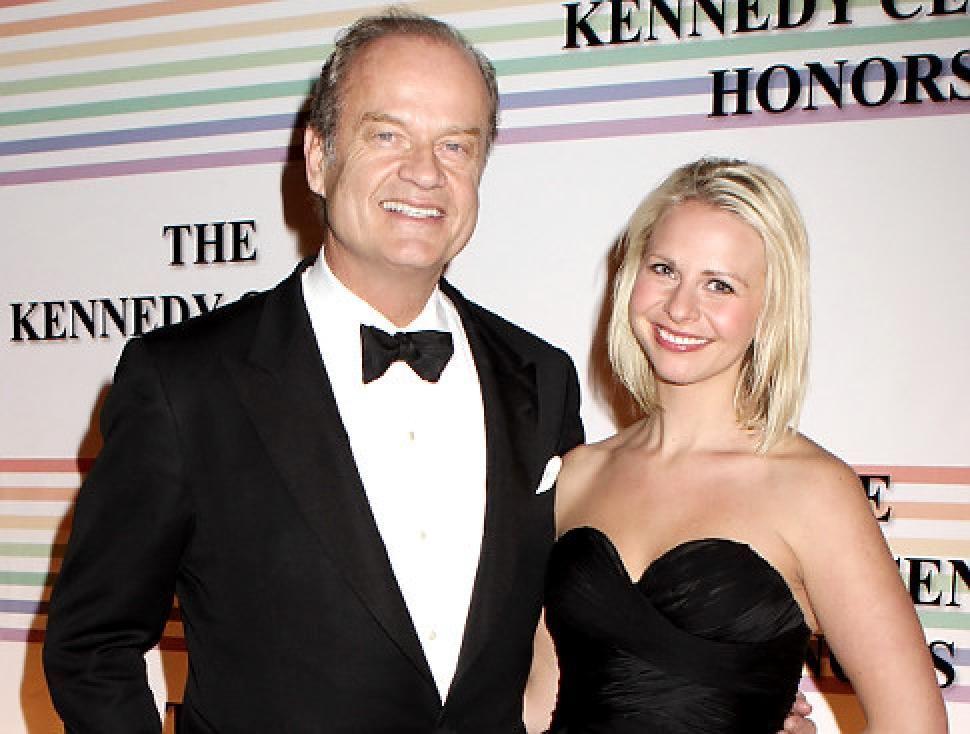 ¿Ella a es la hija o la pareja de Kelsey Grammer?