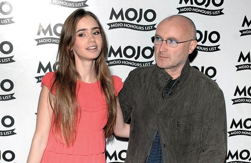 ¿Es la hija o la pareja de Phil Collins?