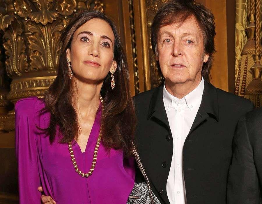 ¿Ella es la hija o la pareja de Paul McCartney?