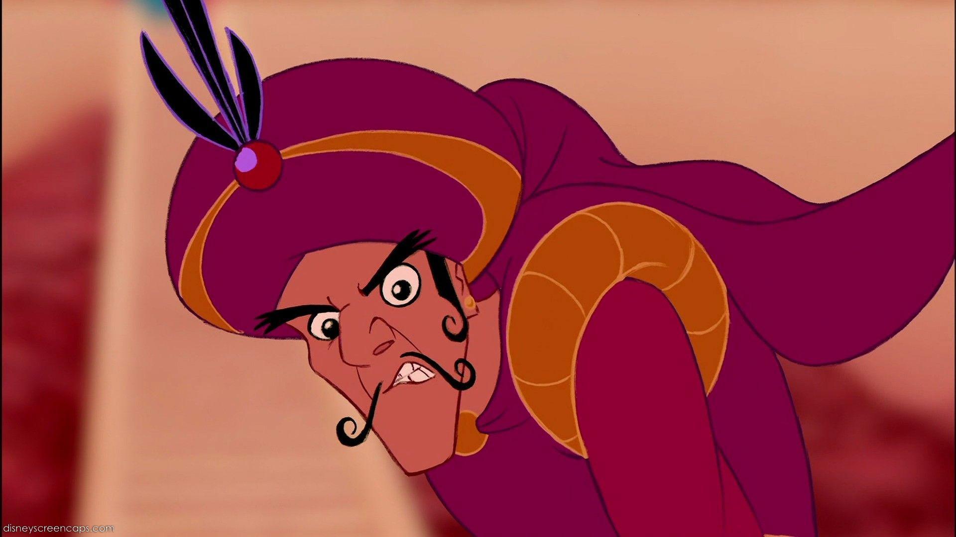Hablando de Aladdín... ¿Qué animal dice Aladdín que es el príncipe Ahmed?