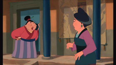 ¿Cómo se llama la madre de Mulán?