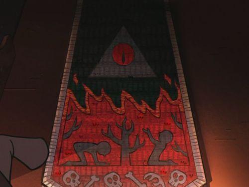 ¿En qué episodio vemos, finalmente, el aspecto oscuro y rojizo de Bill Cipher?