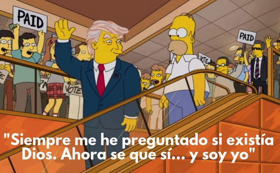 12320 - Quién lo ha dicho: ¿Donald Trump o Homer Simpson?