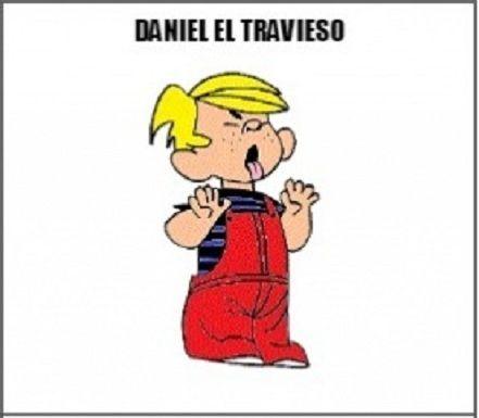 ¿Se le ha cambiado o se le ha quitado algo a Daniel el travieso?