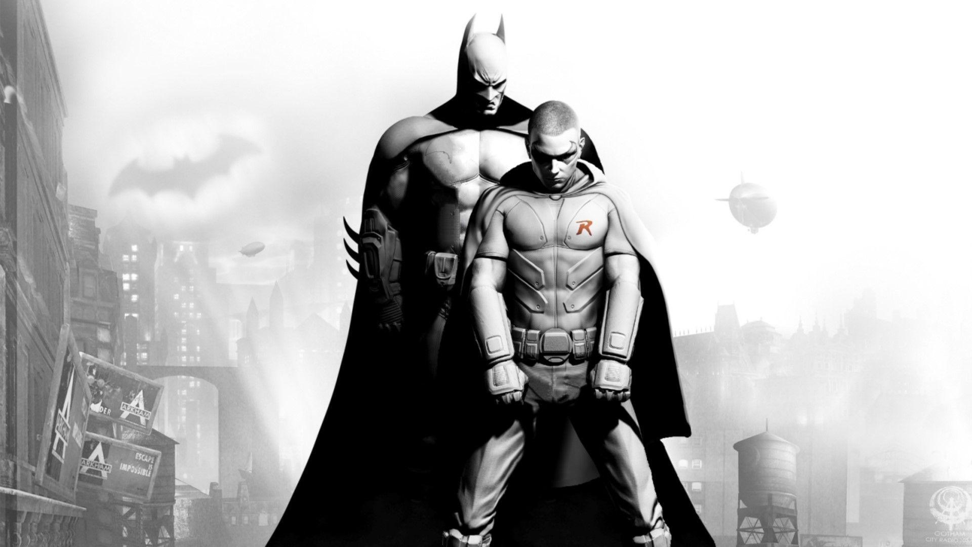 ¿Qué Robin es el que ayuda a Batman en la saga?