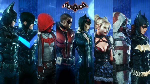 ¿Cuál de estos personajes no fue jugable hasta Arkham knight?