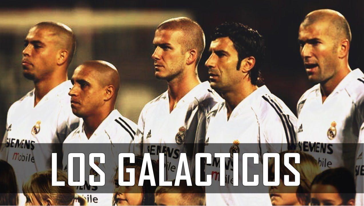 ¿Quién fue el primero de los galácticos del Real Madrid, club al que llegó en el año 2000?