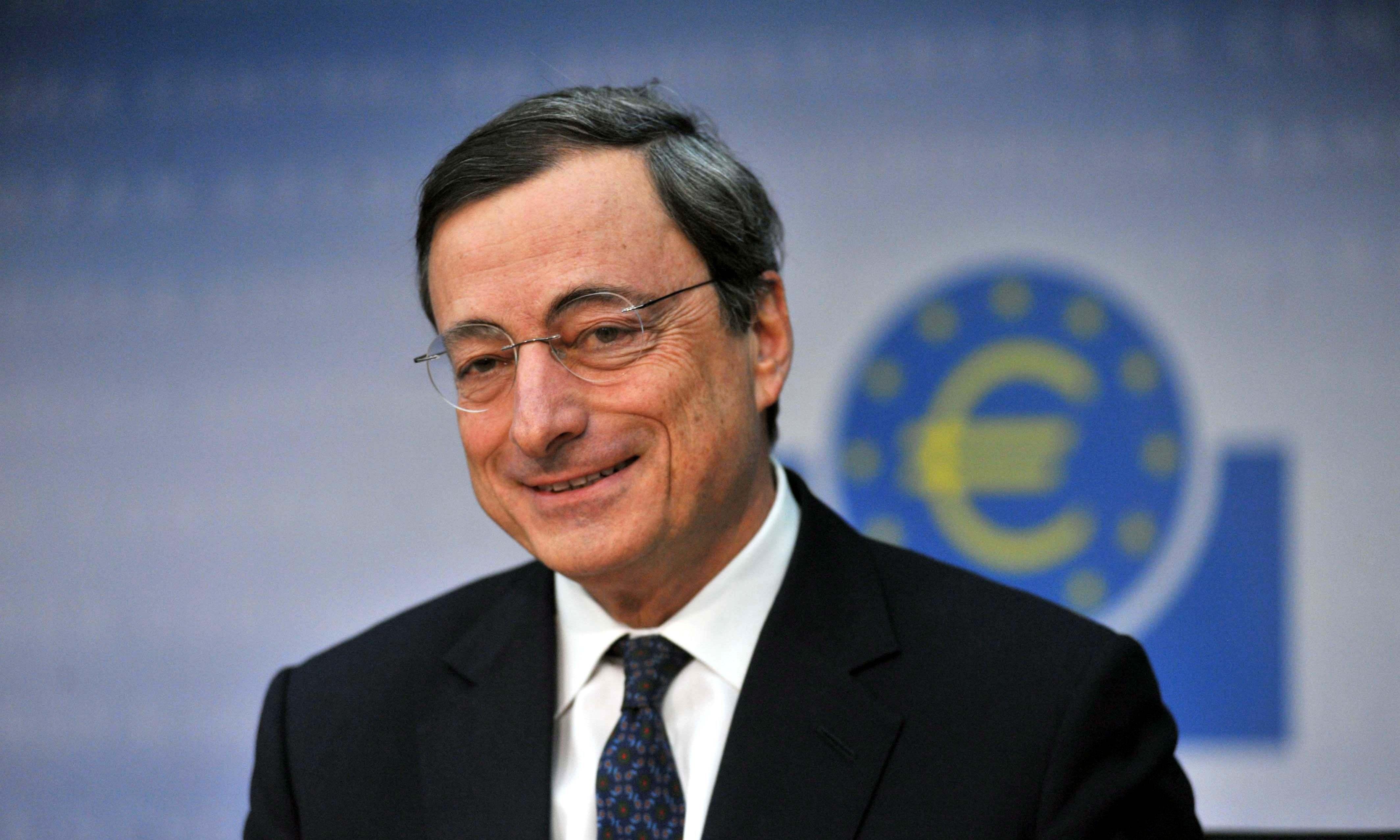 Continuamos con Mario Draghi, Presidente del Banco Central Europeo.