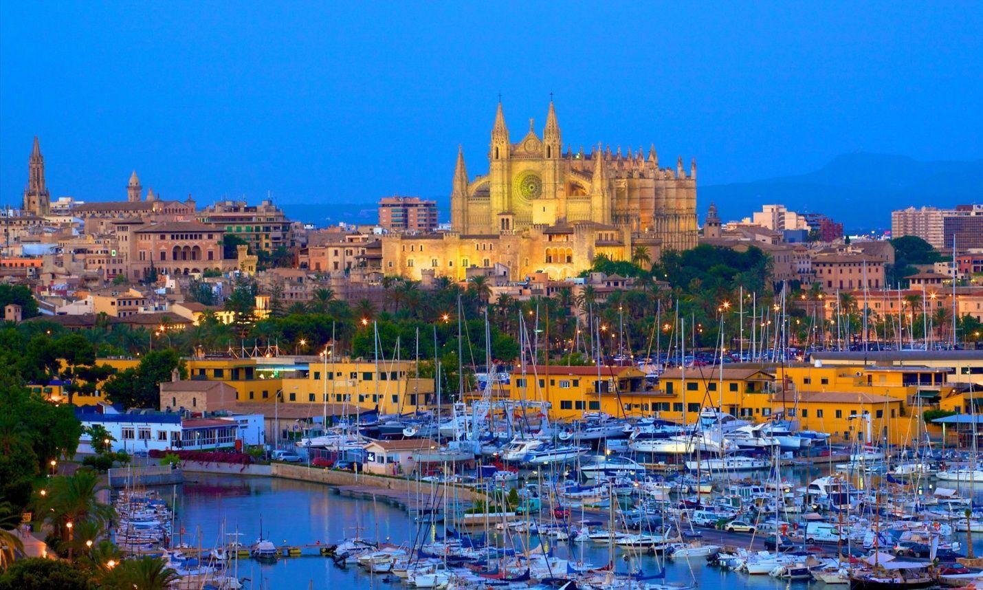 Una fácil ¿cuál es la capital de las Islas Baleares?