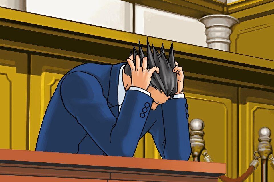 ¿Cuántos casos ha perdido Phoenix Wright?