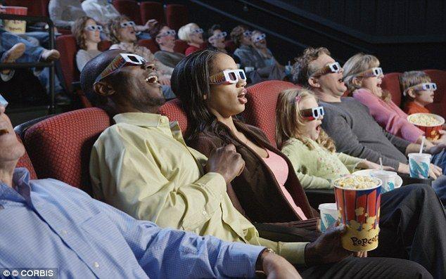 ¿Con quien tienes pensado ir al cine?