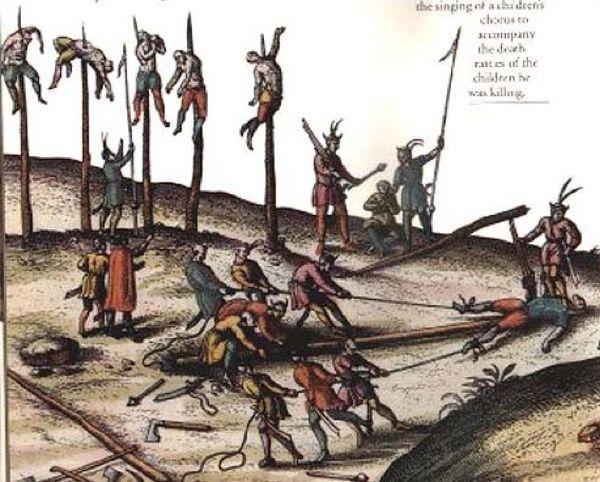 ¿Morir crucificado o empalado?