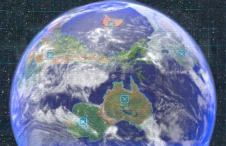 ¿En qué está basado el mapa general de PNF-404 de Pikmin 3?