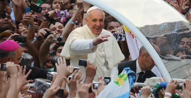 Y para terminar, ¿cuándo y dónde fue la primera (y de momento única) JMJ a la que fue el papa?