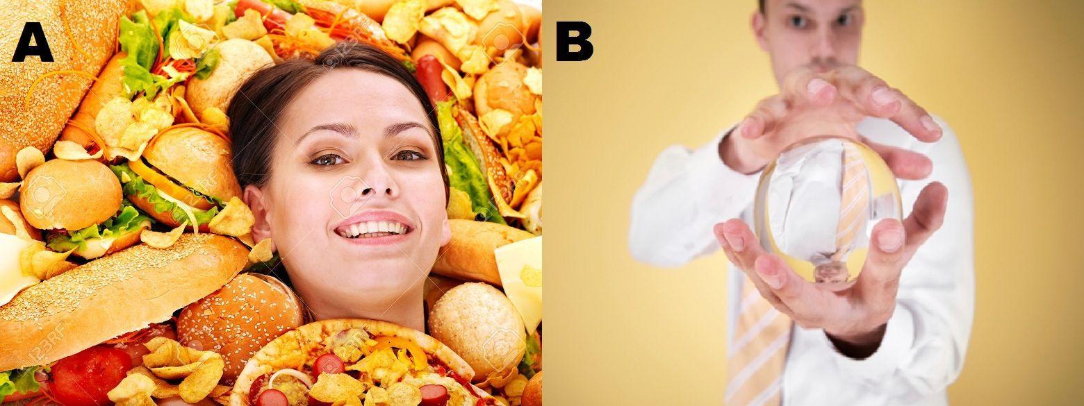 ¿En poder comer de todo y cuanto quieras sin engordar ni un gramo o en prever que pasará en el futuro?