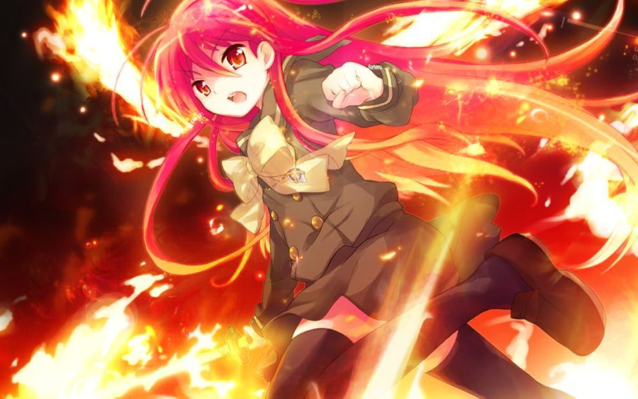 12817 - Pelirrojos y pelirrojas del Anime
