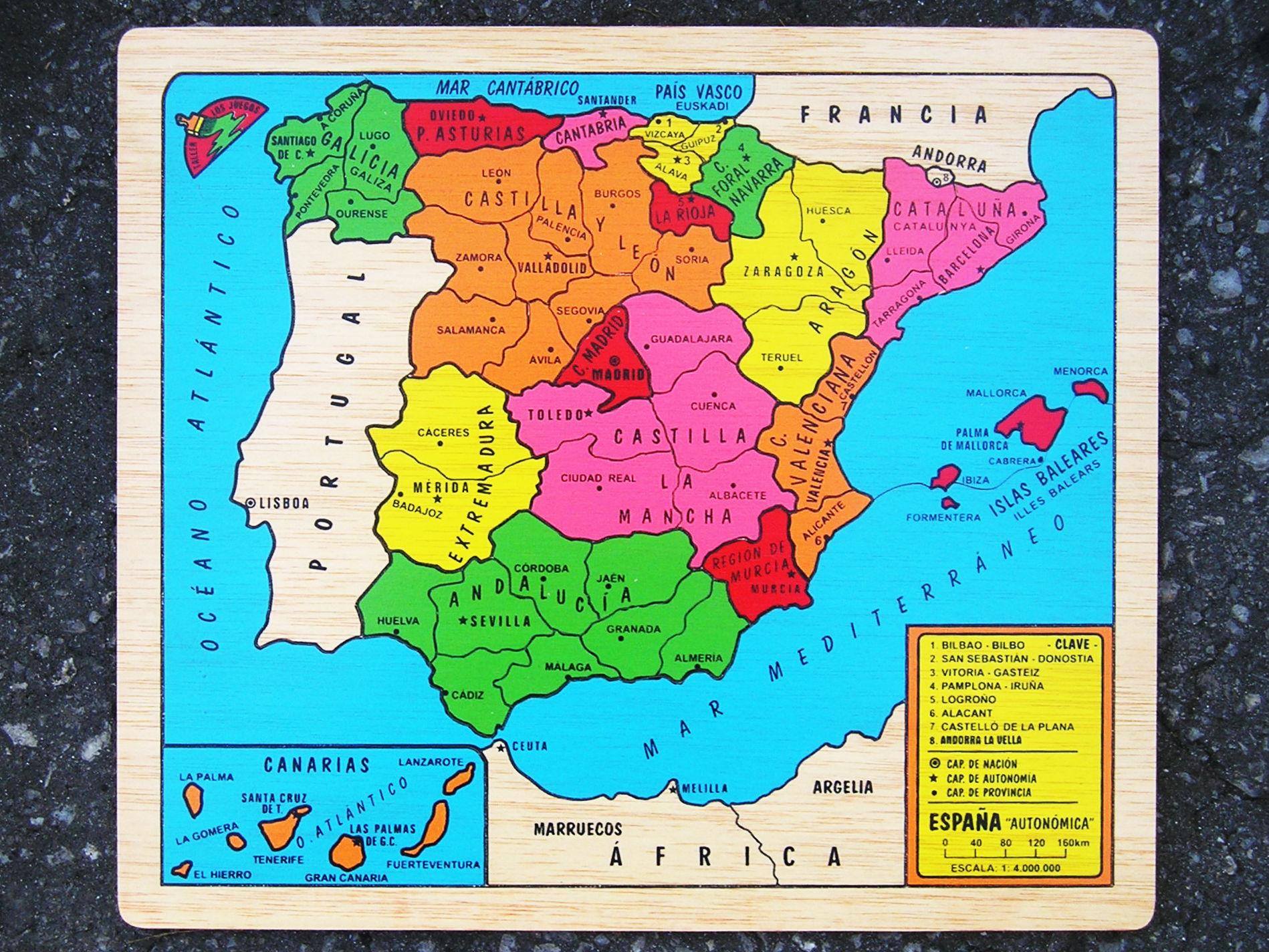 12890 - ¿Puedo adivinar de qué ciudad de España eres? [Península Ibérica]