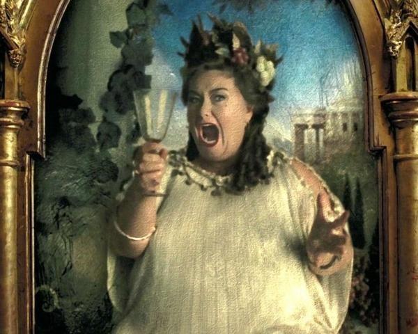 ¿ Cómo protegió Dumbeldore el retrato de la Señora Gorda luego de que esta fuera atacada por Sirius Black?