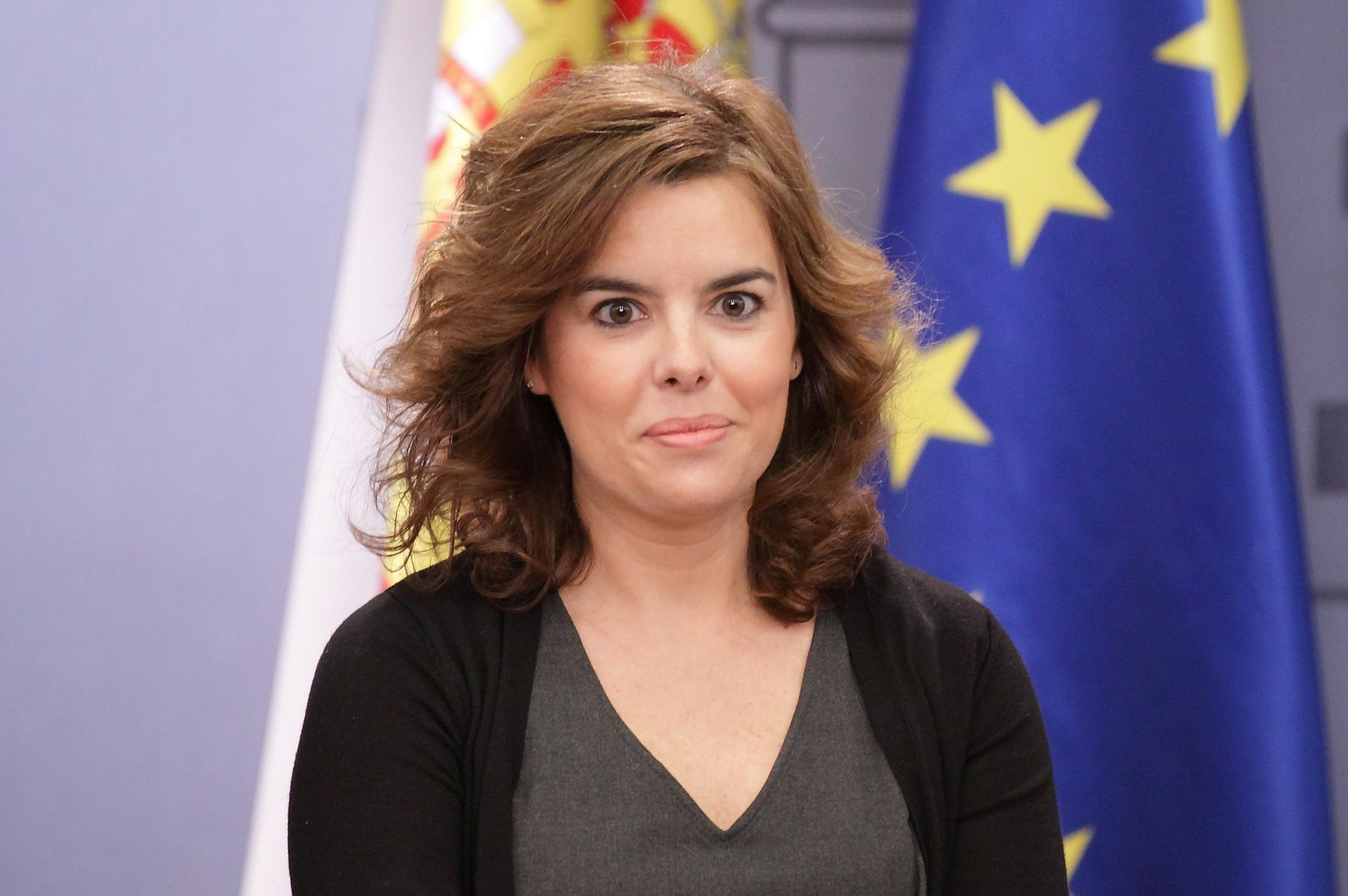 La vicrepresidenta, Soraya Saenz de Santamaría. ¿Qué opinas?