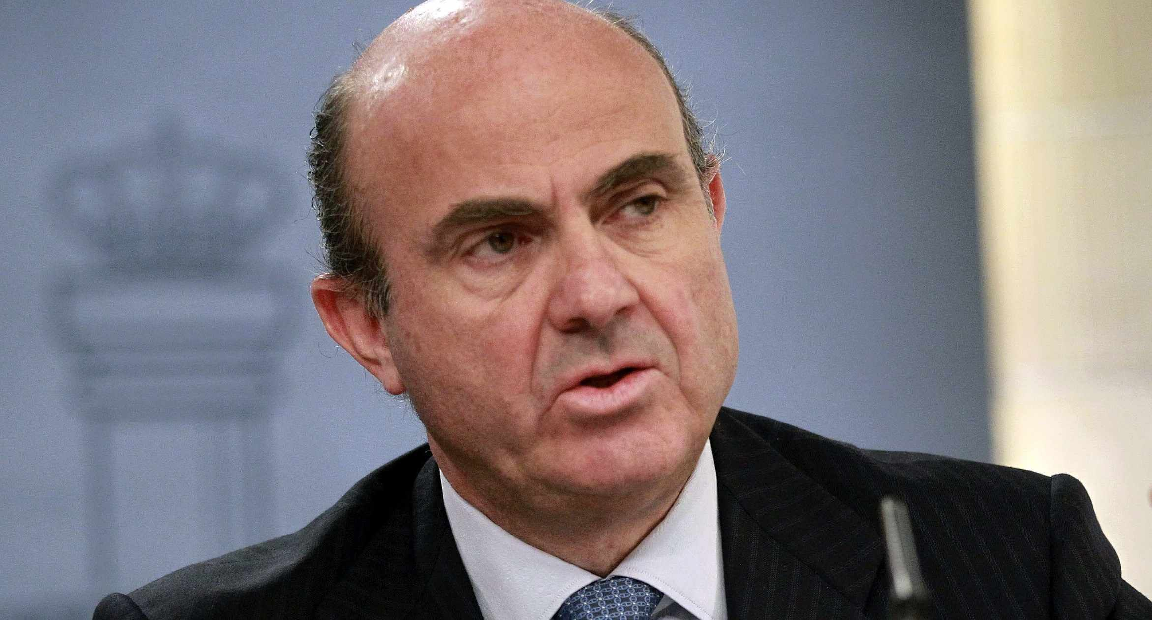 Luis de Guindos, Ministro de Economía y el ministro más importante en el marco internacional del gobierno de Rajoy