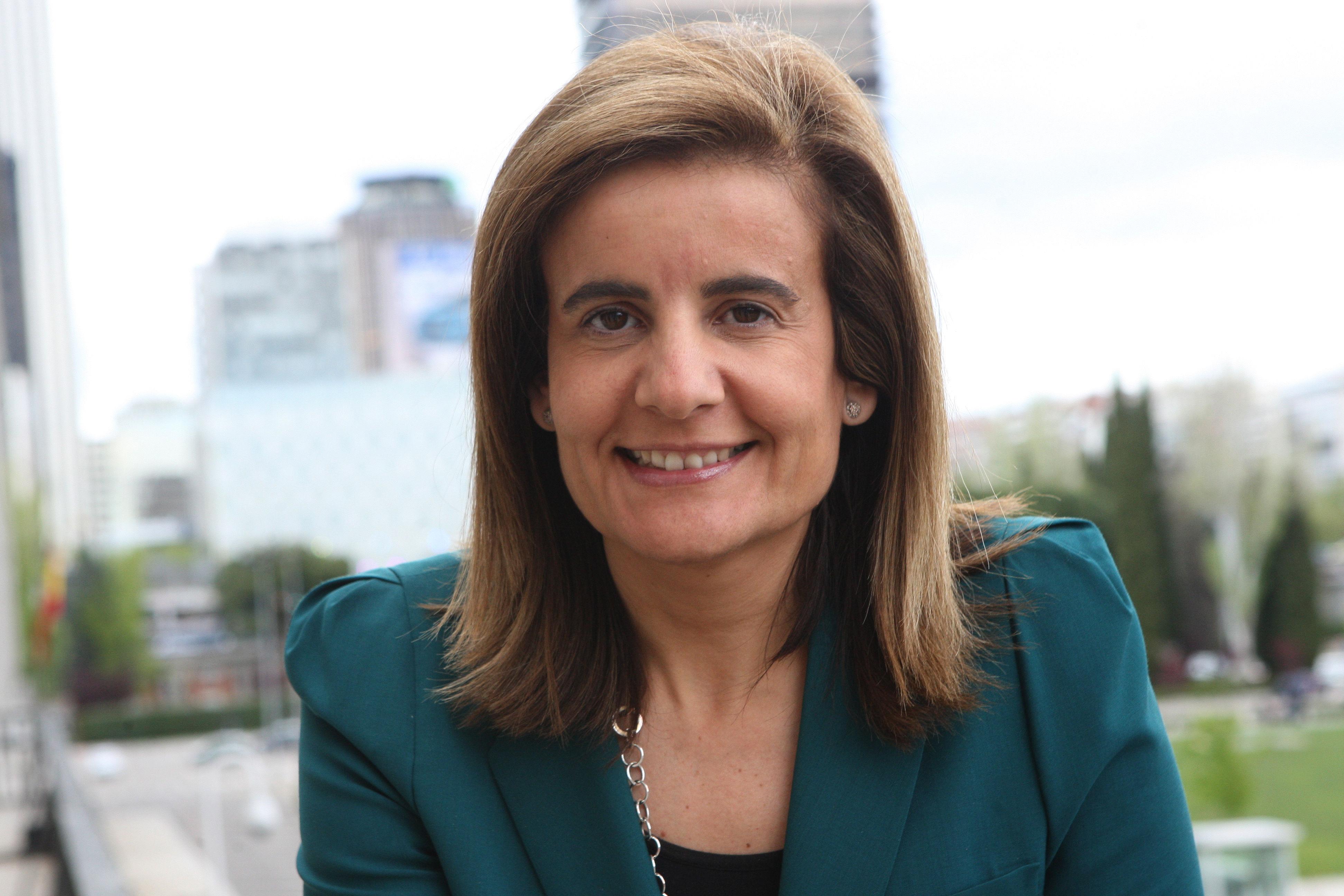 Fátima Báñez, Ministra de Empleo y Seguridad Social.