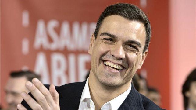 Ahora alguien que puede sustituir a Rajoy como Presidente del Gobierno. Creo que es mi obligación preguntar por Pedro Sánchez.
