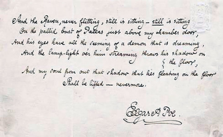 ¿Cuál era el sueño de Poe?