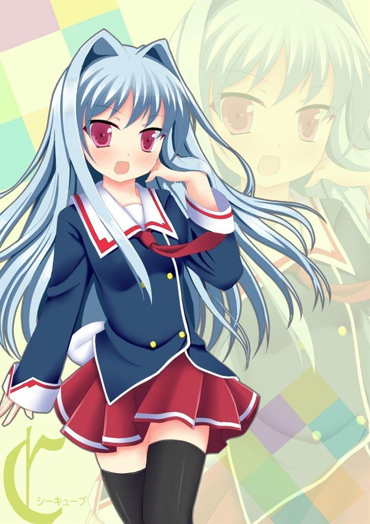 Anime cabello azul