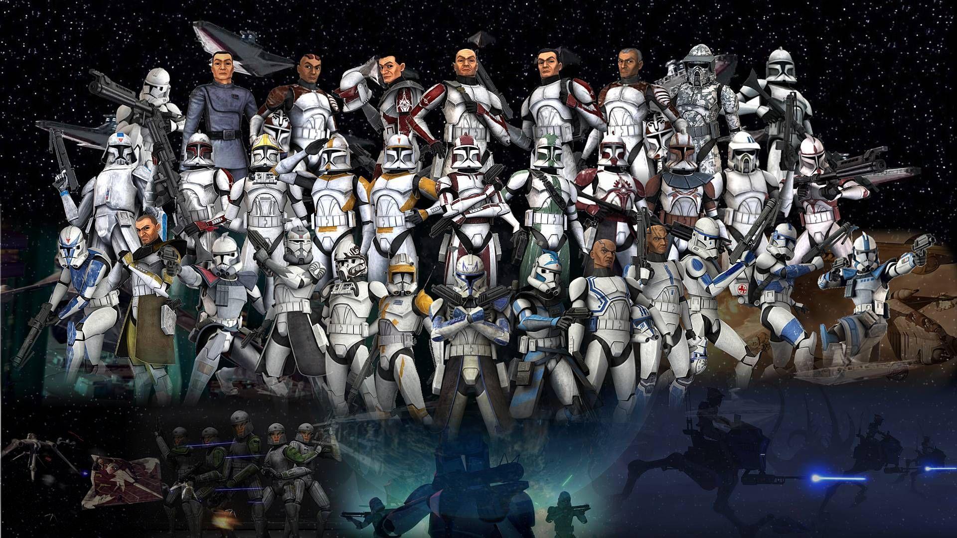 12963 - ¿Reconoces a estos soldados clon?