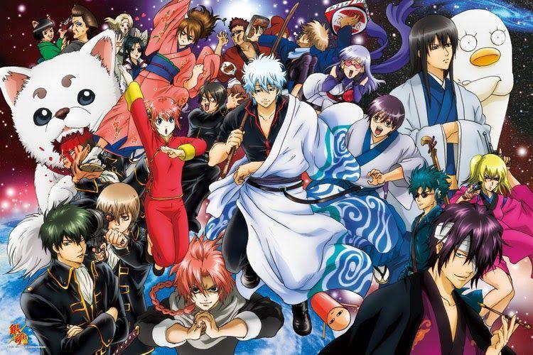 Resultado de imagen para Gintama