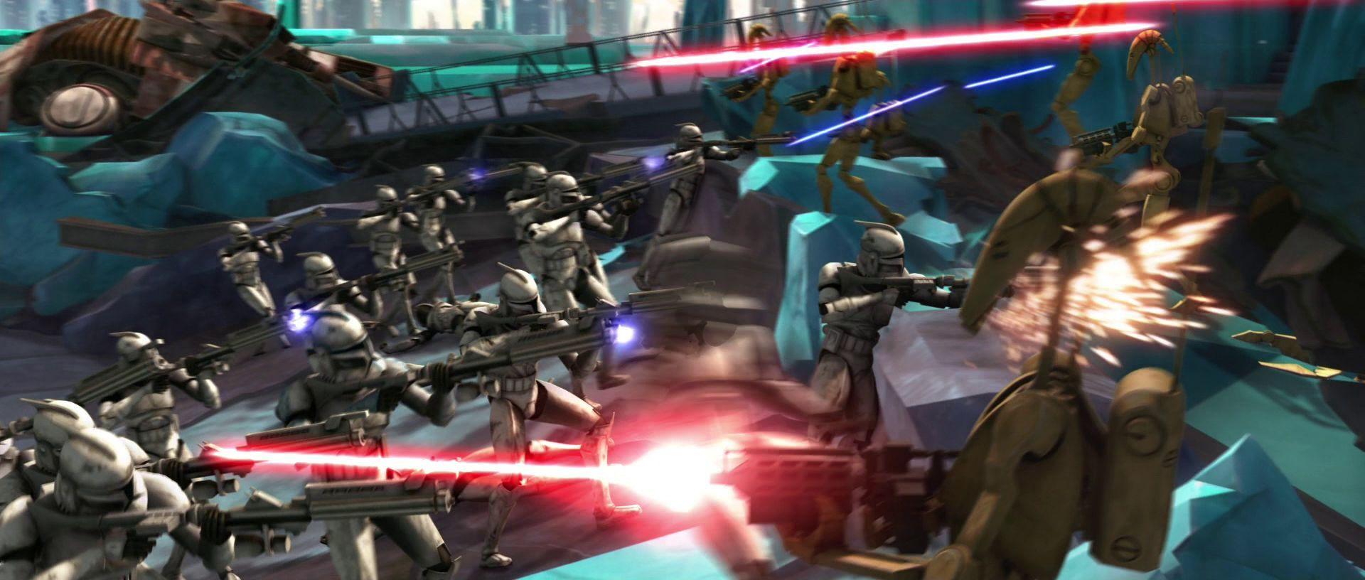 ¿Durante que batalla Anakin adquiere a su nueva Padawan, Ashoka Tano?