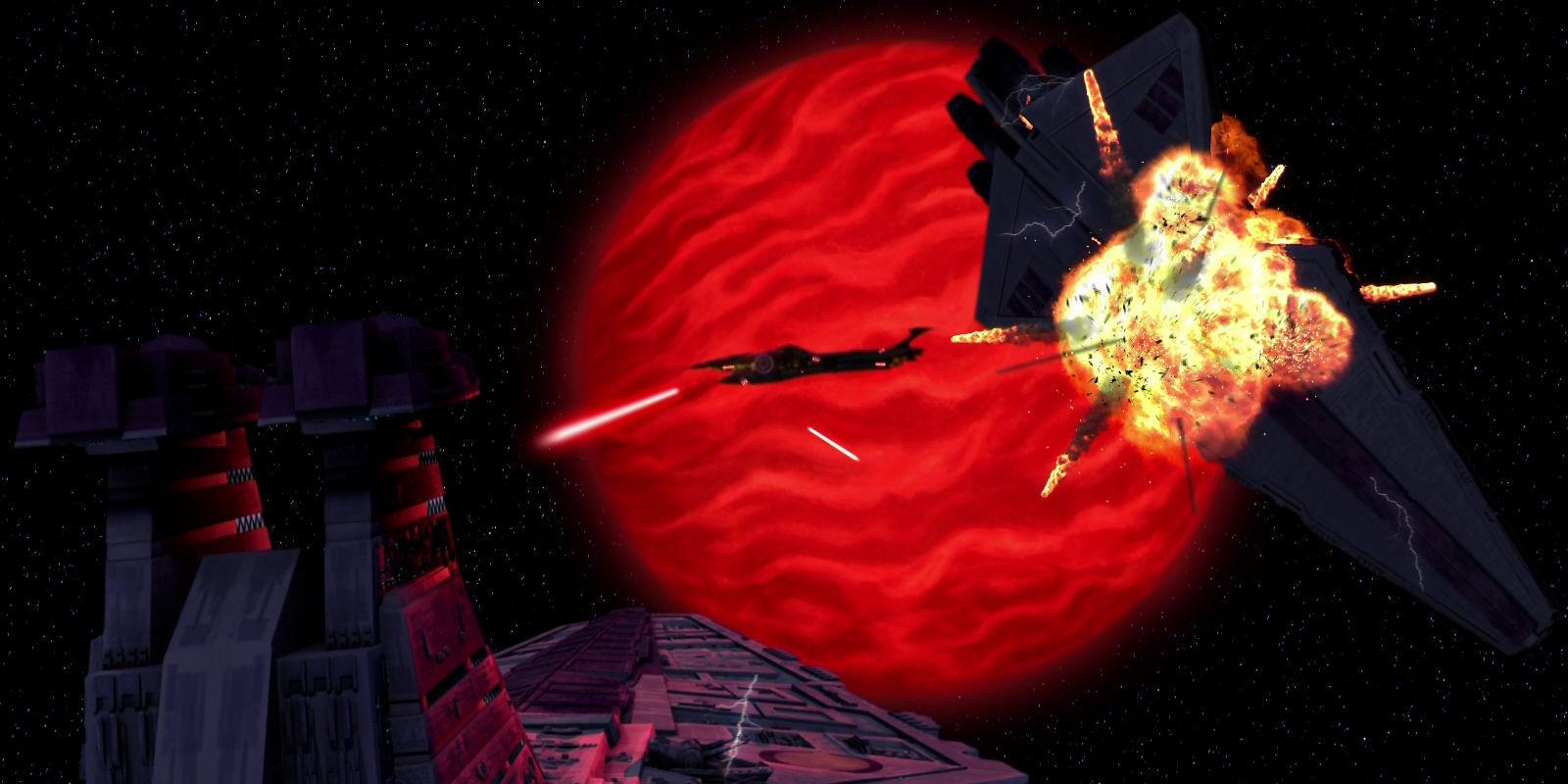 Durante varias batallas, como la de Abregado,una nave inmensa de la Confederación destruye muchos cruceros Jedi. ¿Su nombre era?