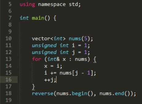 ¿Qué hay en la posición 4 de este vector tras la ejecución de este programa?
