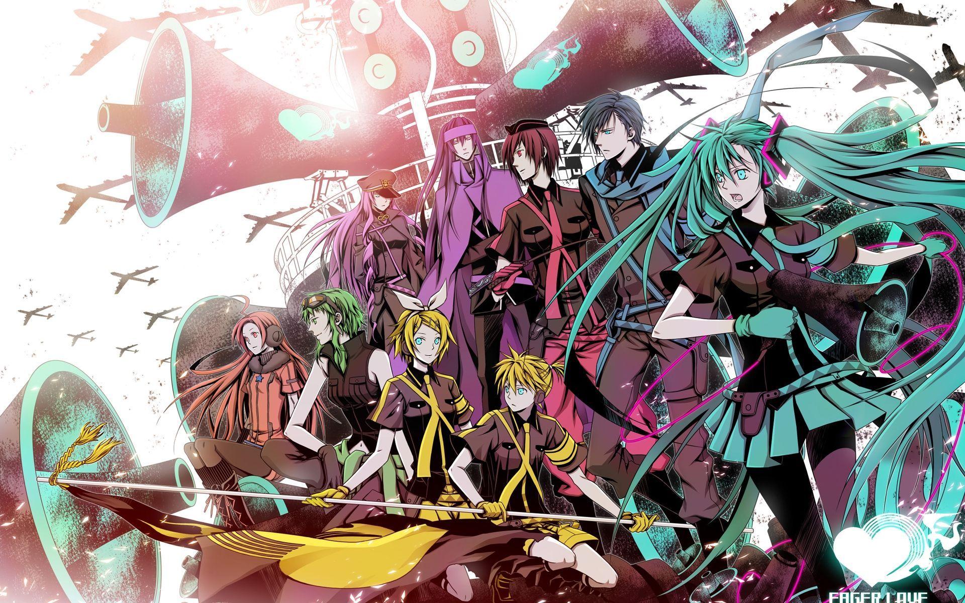13094 - ¿Conoces las siguientes letras de canciones de Vocaloid?