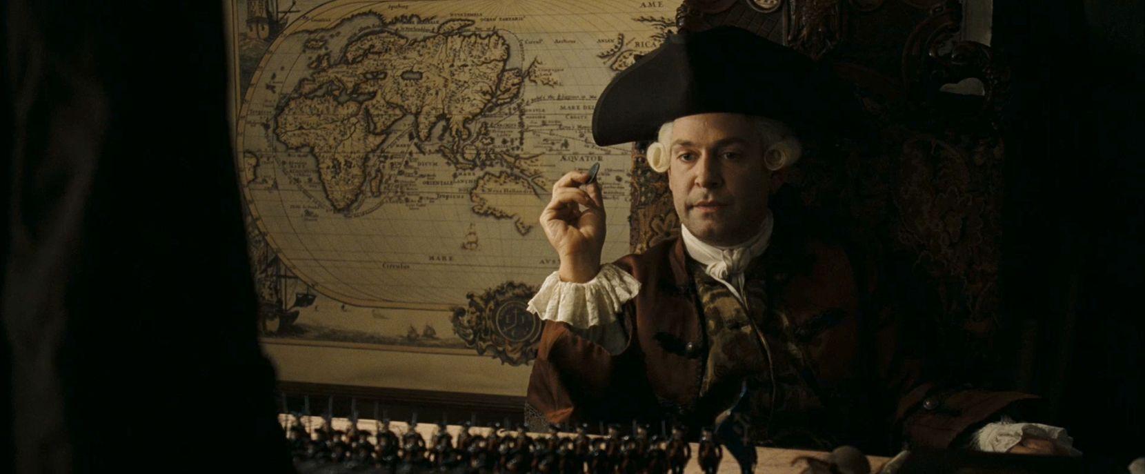 ¿Cuál es el barco de Lord Cutler Beckett en el Fin del Mundo?