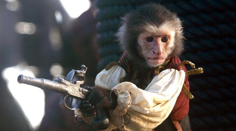 ¿Cómo se llama el mono capuchino de Barbossa?